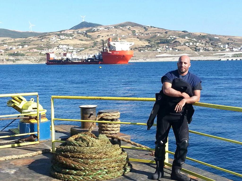 ulis plongee sous marine scaphandrier maroc